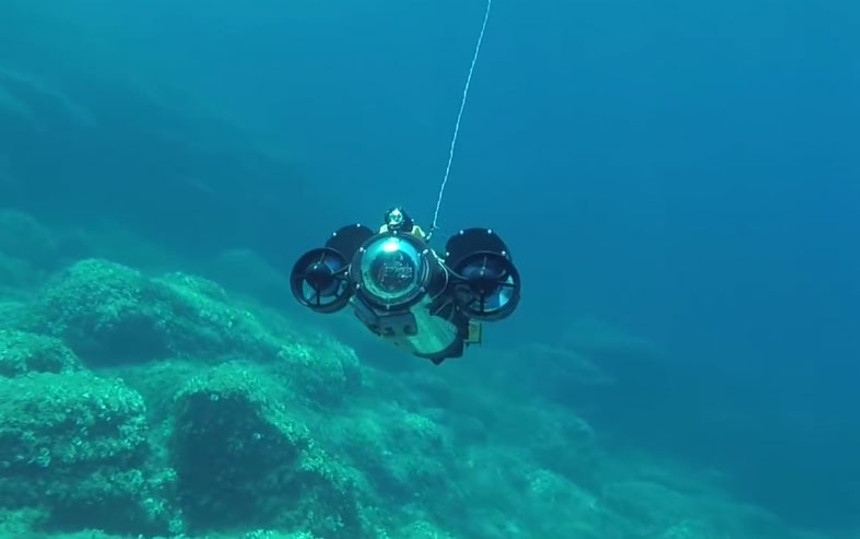Il primo drone sottomarino stampato in 3D-ArcheoRov