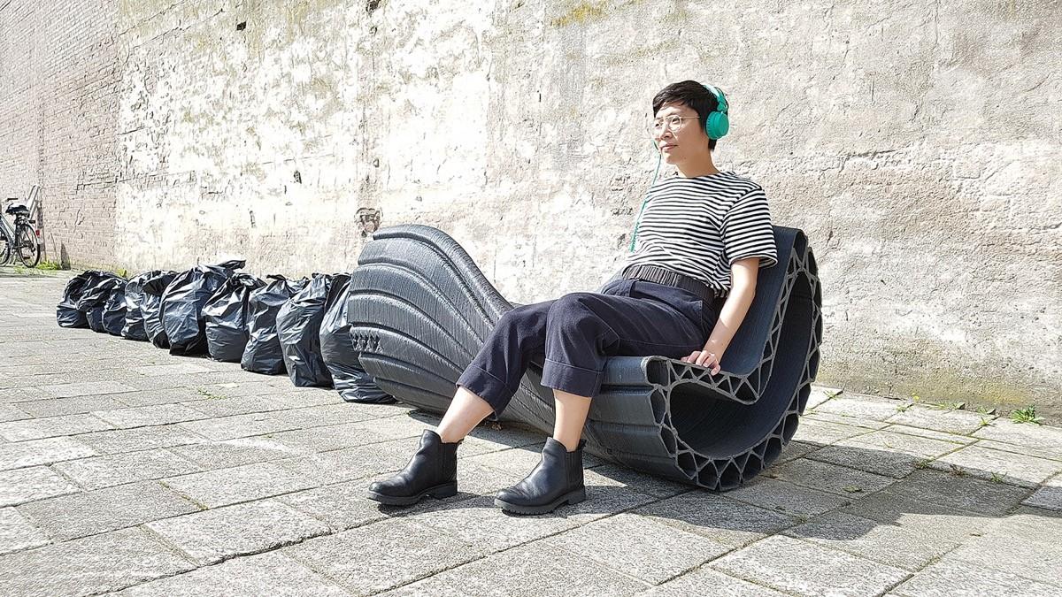 Arredi Urbani In Plastica Riciclata.Stampa 3d Prodotti Di Design Urbano Con Plastica Riciclata