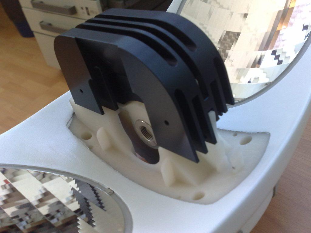 stereolitografia prototipo lampada led_3