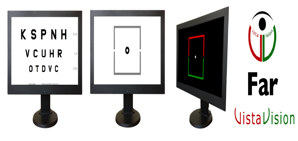Polarized LCD monitors for ottotyps
