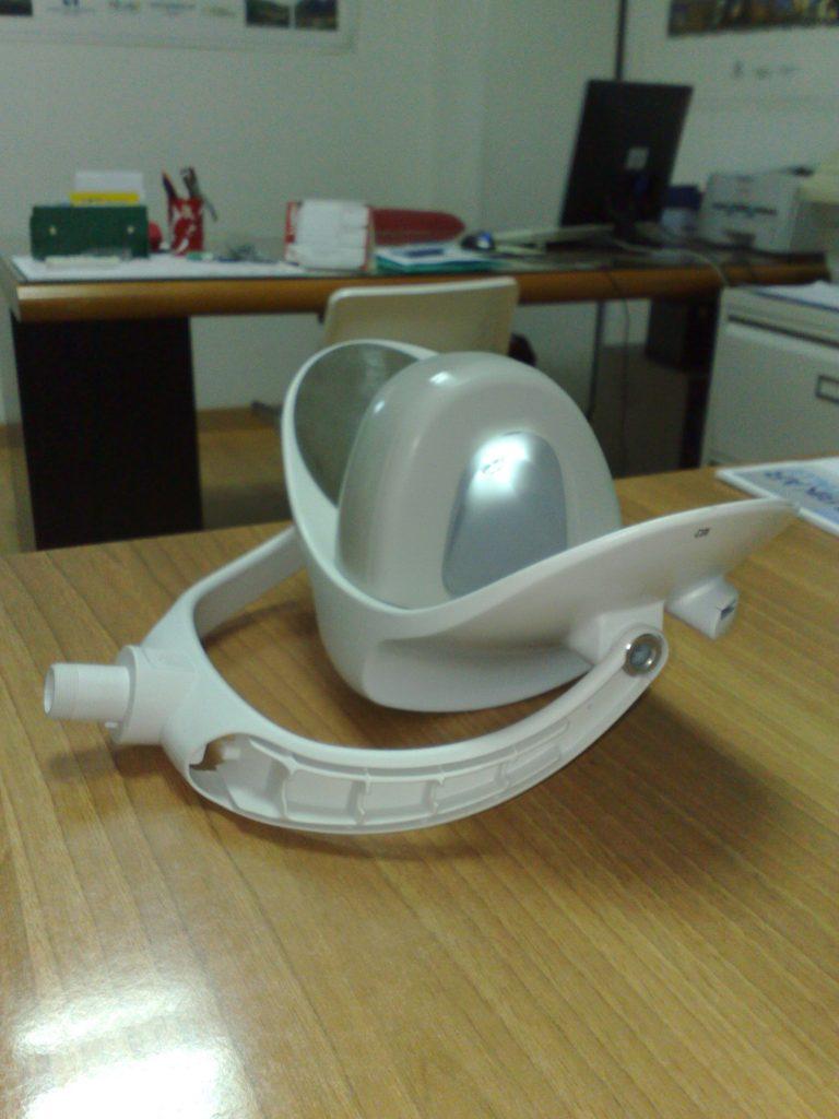 stereolitografia prototipo lampada led_4
