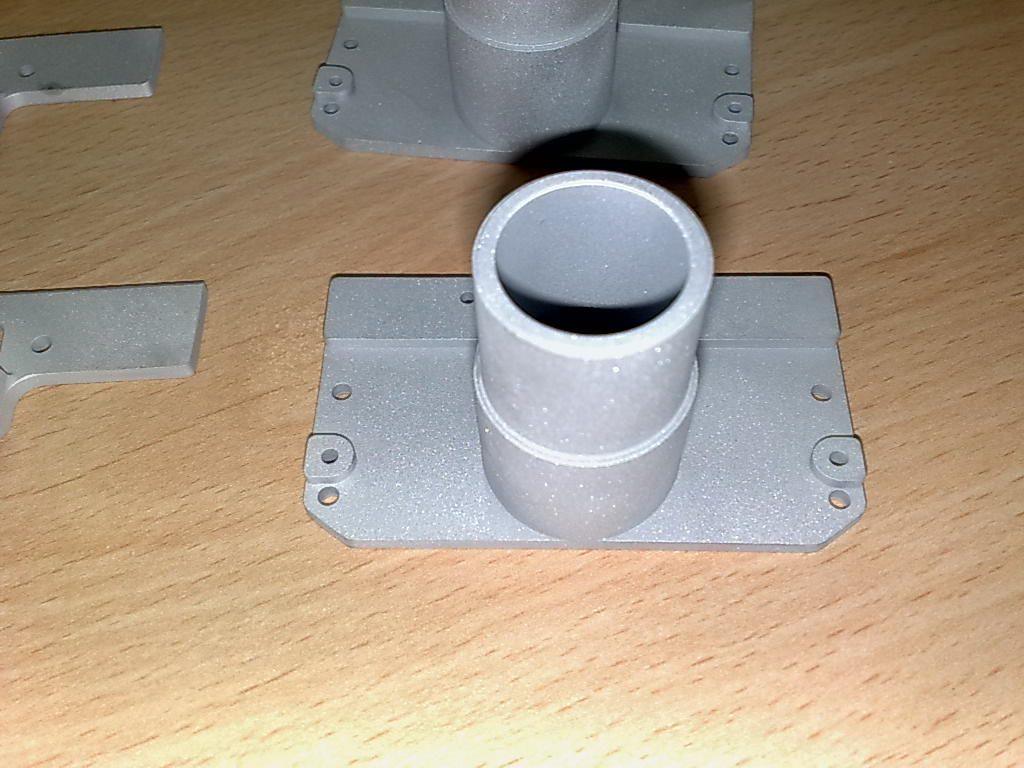 SLS PA+Aluminum powder