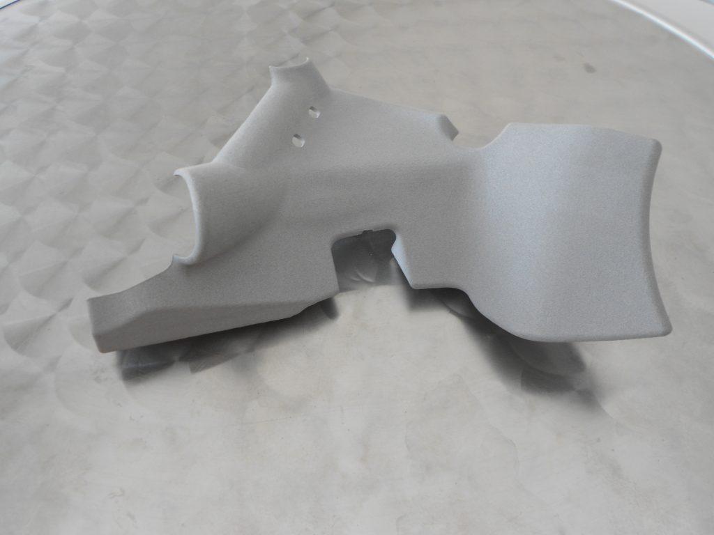Prototipo in sinterizzazione nylon caricato alluminio