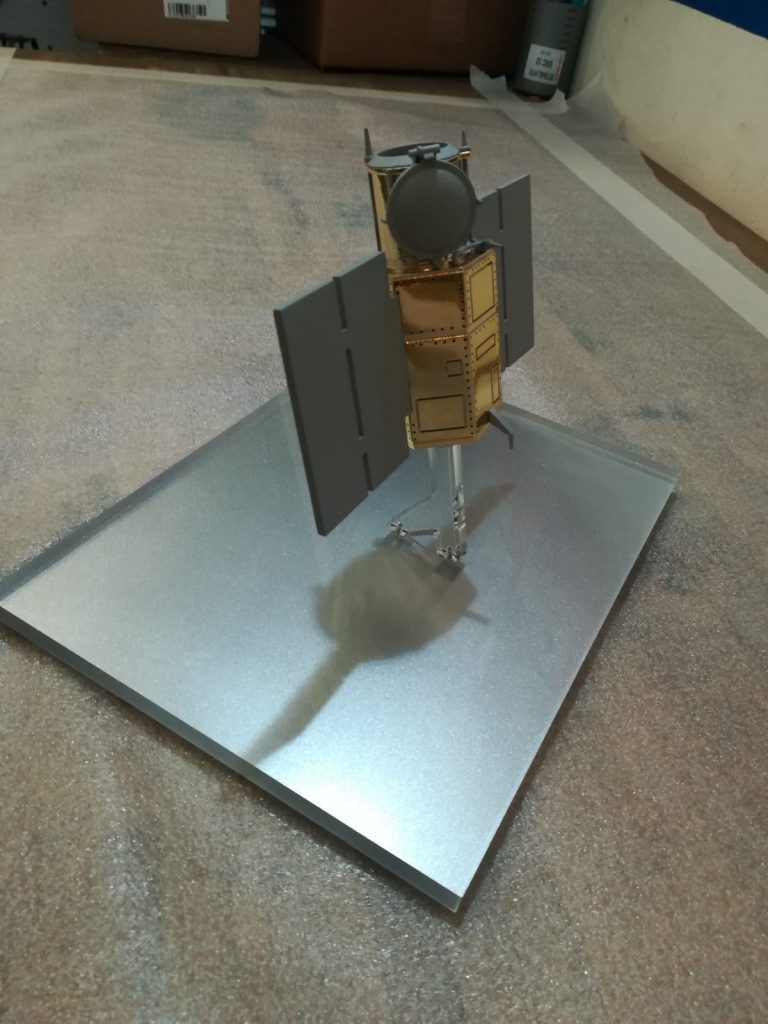 Scale model in stereolithography