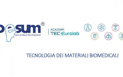 Corso di specializzazione in TECNOLOGIA DEI MATERIALI BIOMEDICALI