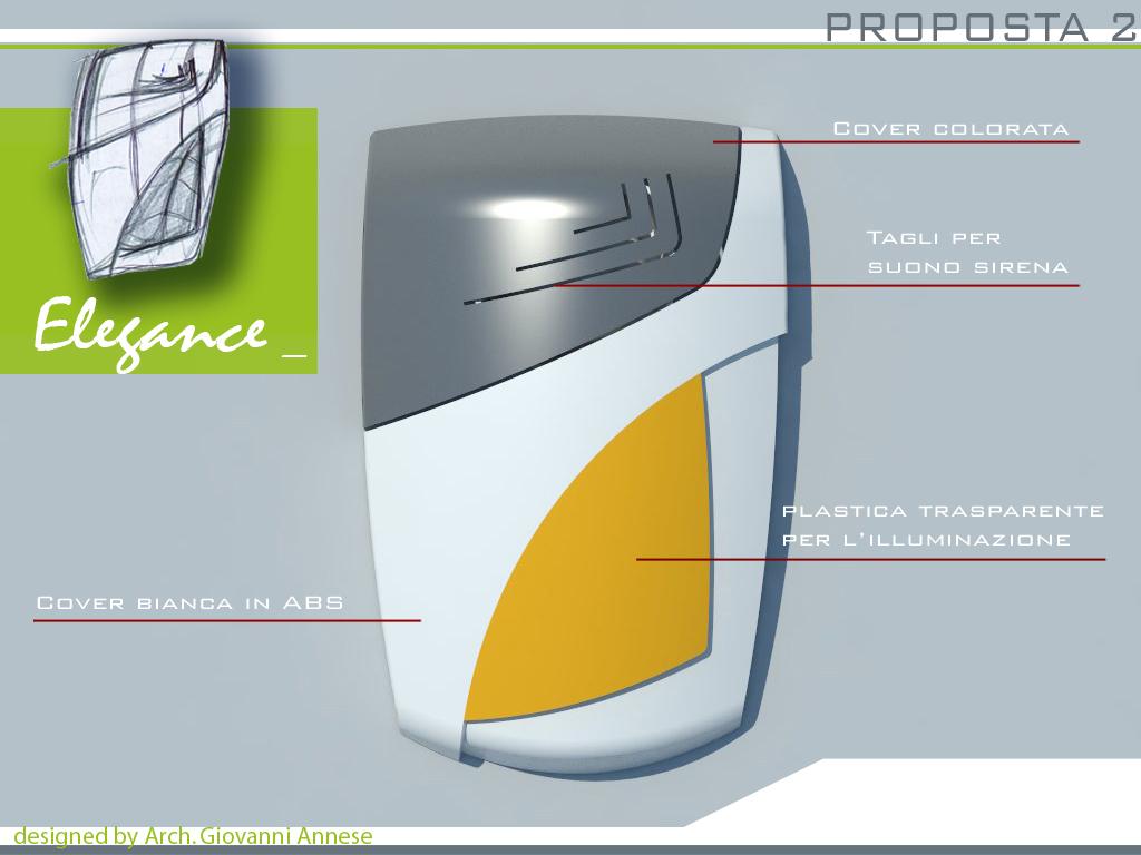Render proposta di design